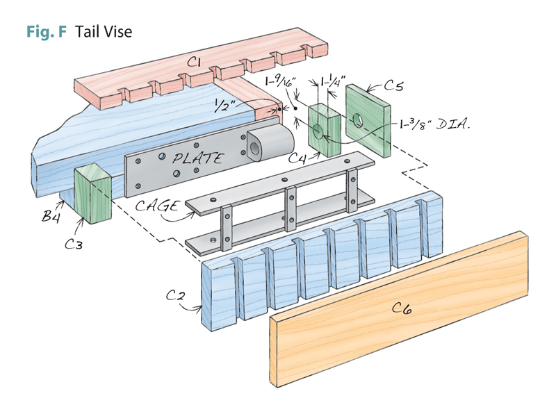 tail vise plans