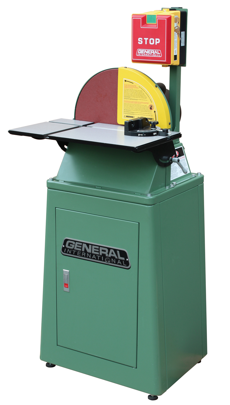 "General International 15"" disc sander - Popular Woodworking Magazine"