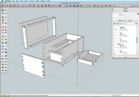 sketchup woodworkers