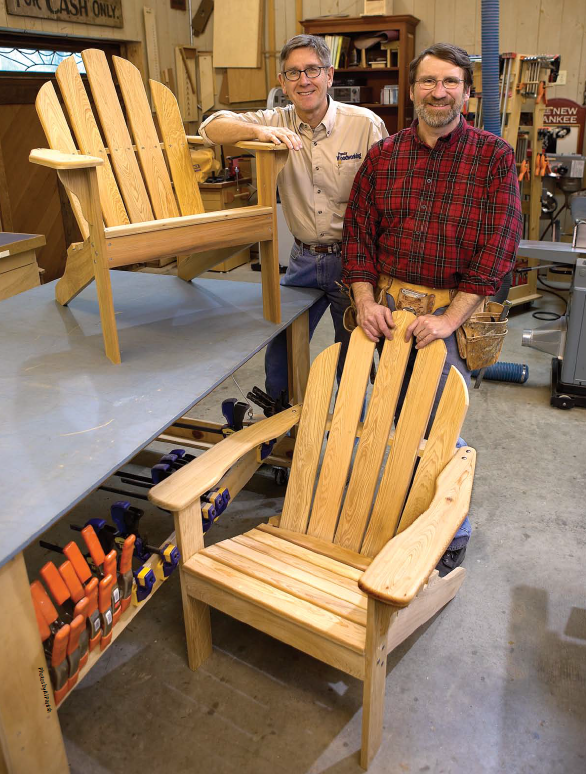 how to build adirondack chairs plans