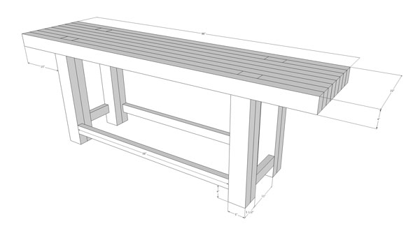 Workbench Joinery