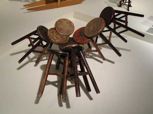 Chinese Stools as Art