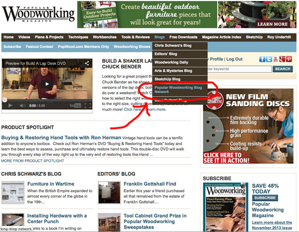 Looking for Some Good Reading? - Popular Woodworking Magazine