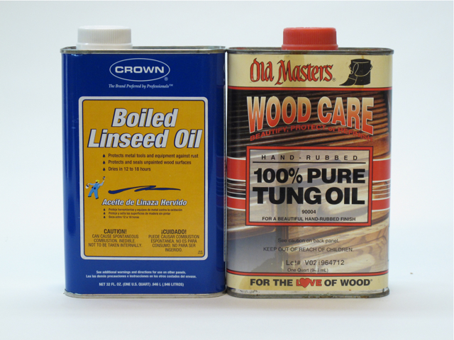 Comparing Linseed Oil & Tung Oil - Popular Woodworking Magazine