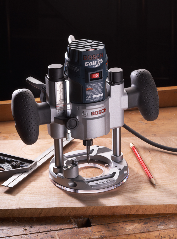 Bosch Colt Router Plunge Base Video Tool Test