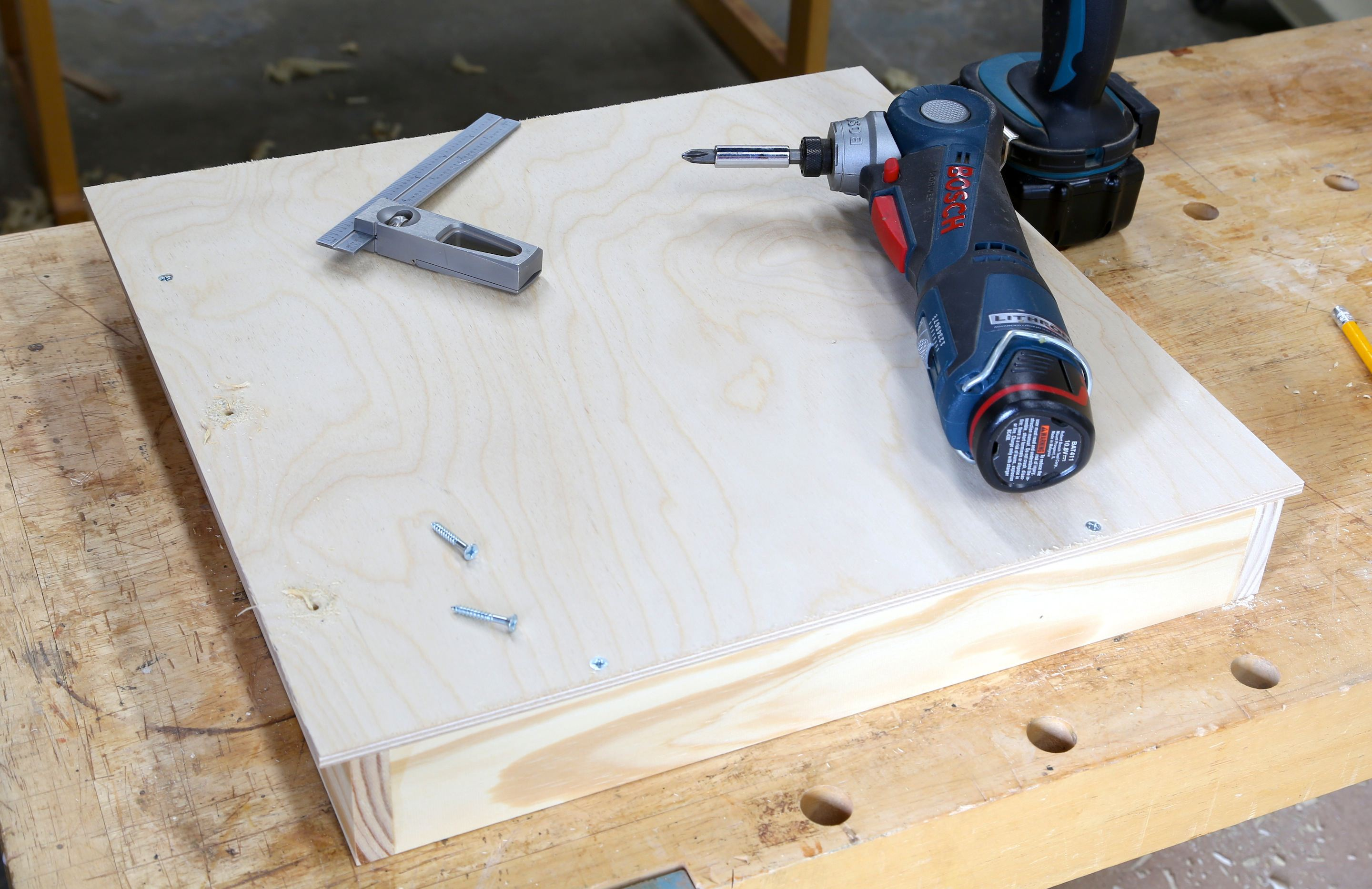 How To Build Woodshop Drawers: Free DIY Tool Drawer Plans. Full resolution  snapshot, nominally Width 2880 Height 1867 pixels, snapshot with #664027.