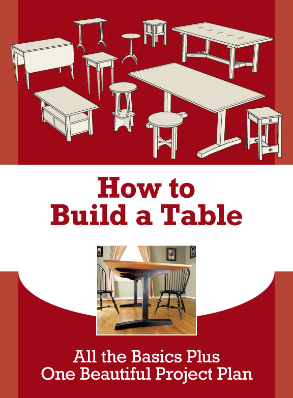 how to make furniture, furniture making, build a table, how to build a table