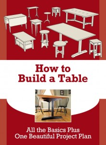 Free woodworking plans are everywhere. This one gives you some real knowledge on tables, especially Shaker style furniture.