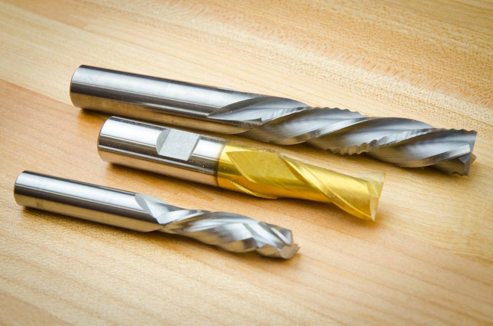 end mills CNC tooling
