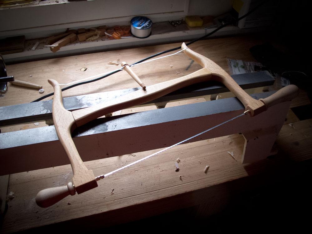 DIY bow saw