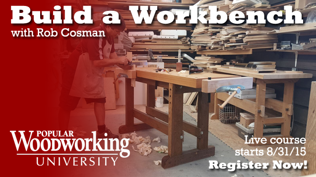 You can build an easy workbench in this online course!