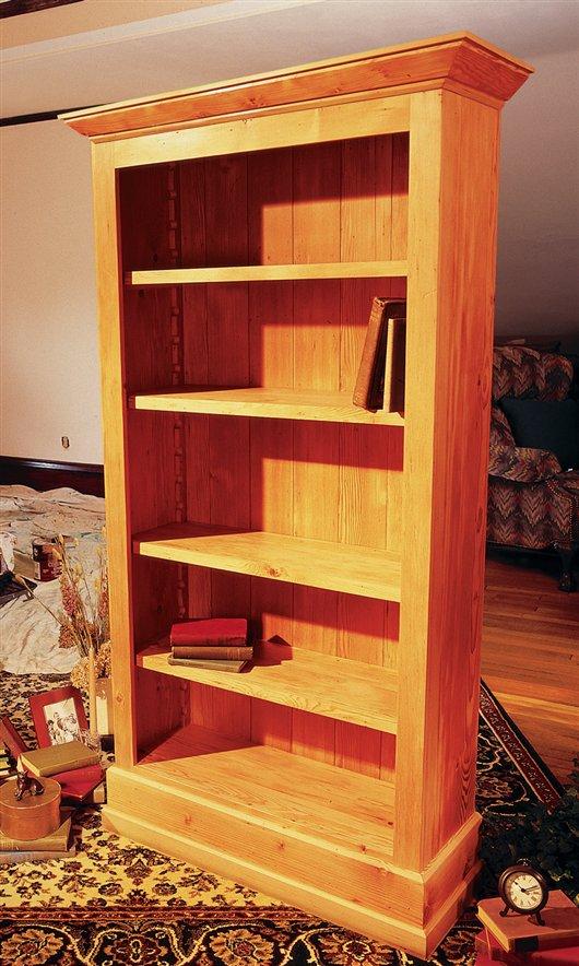 lovely wood bookshelf plans free bed