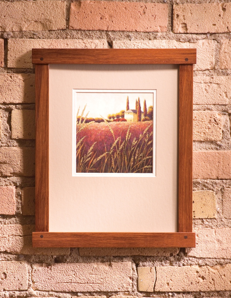 Craftsman picture frame plans free download pdf for A frame blueprints