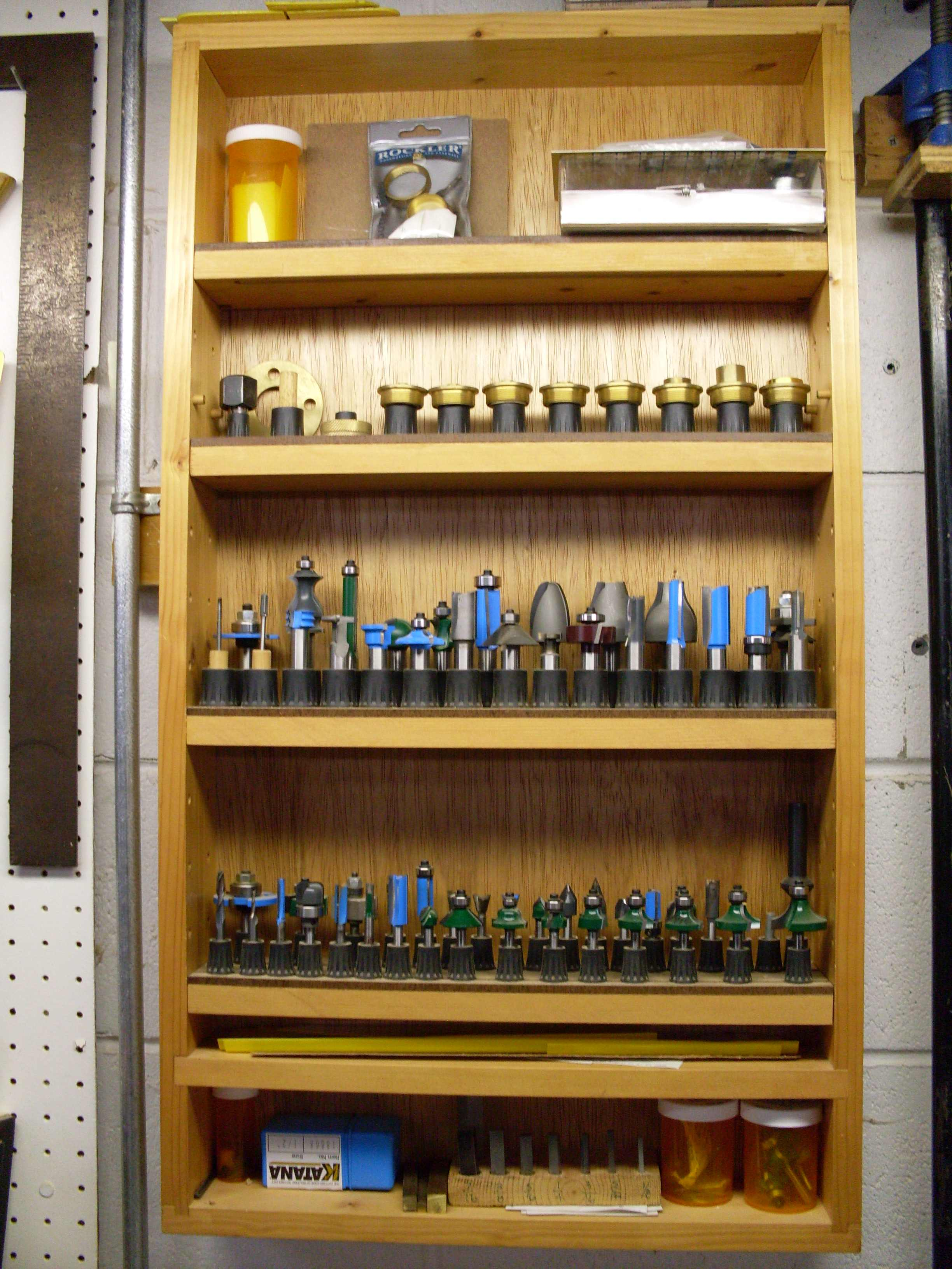 Woodworker's Solutions to Router Bit Storage - Popular ...