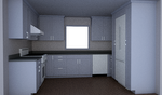 This low-resolution image was created in SketchUp using a free version of Maxwell Render.