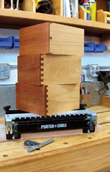 dovetail drawers, dovetail jigs, dovetail cutter