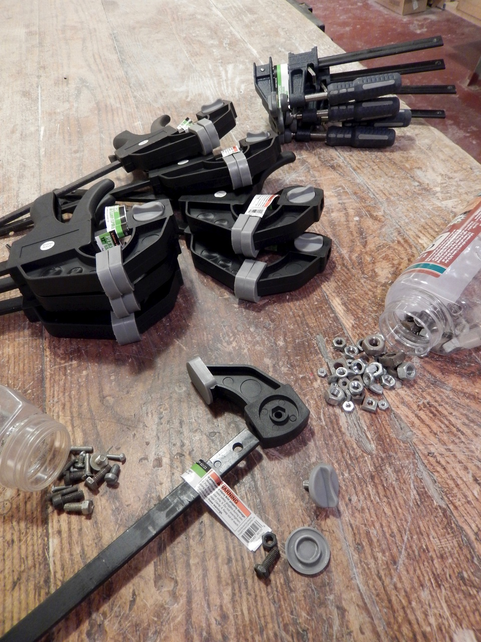 In Defense of Hardware Hoarding, and the Demise U.S. Clamp Makers