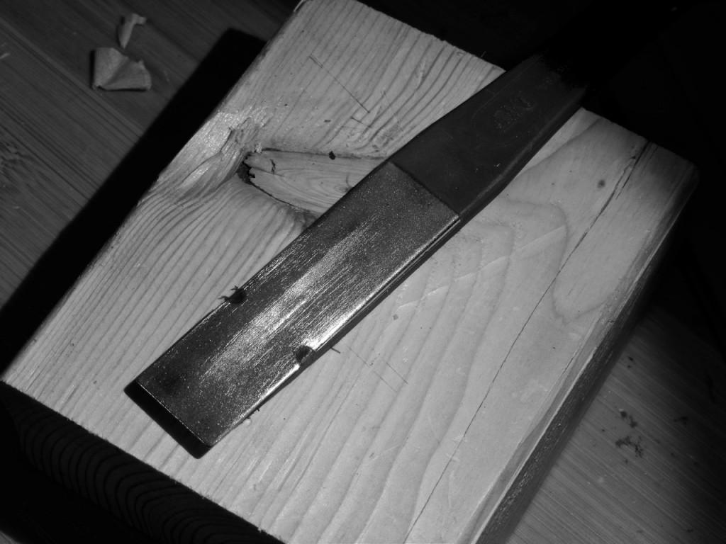 sharpening awkward blades