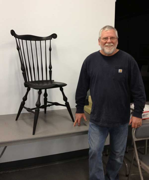 Chairmaker David Wright