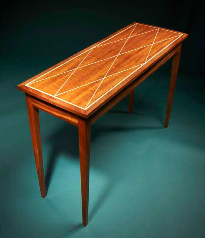 How To Inlay A Table Top A Free Tutorial