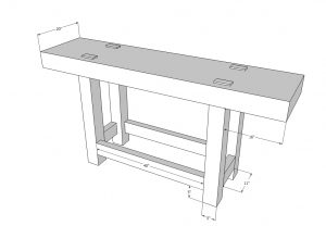 Dicktum Workbench standard 300x208 Workbenches: Balancing the Base and Top