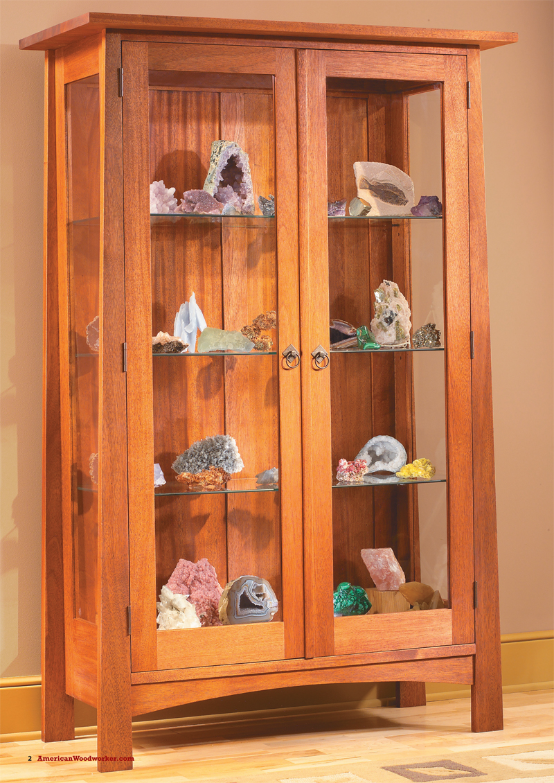 Display Cabinet - Popular Woodworking Magazine