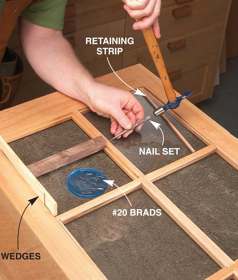 How To Make Glass Cabinet Doors Free Diy Tutorial