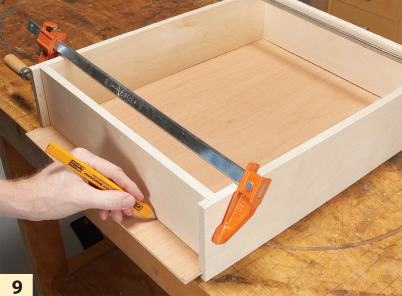 Building Plywood Drawers ~ Fast and easy drawer boxes popular woodworking magazine