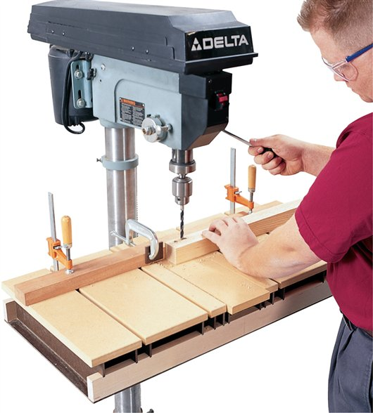 Drill Press Table (AW) - Popular Woodworking Magazine