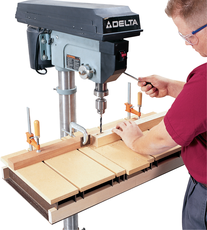 Drill Press Table (AW) Popular Woodworking Magazine