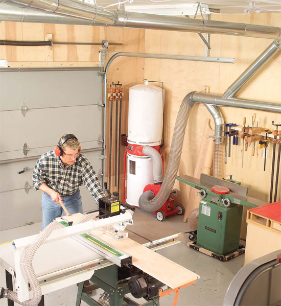 Central Dust Collection - Popular Woodworking Magazine