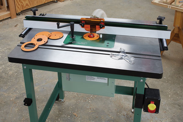 Excalibur Deluxe Router Table Kit - Popular Woodworking Magazine