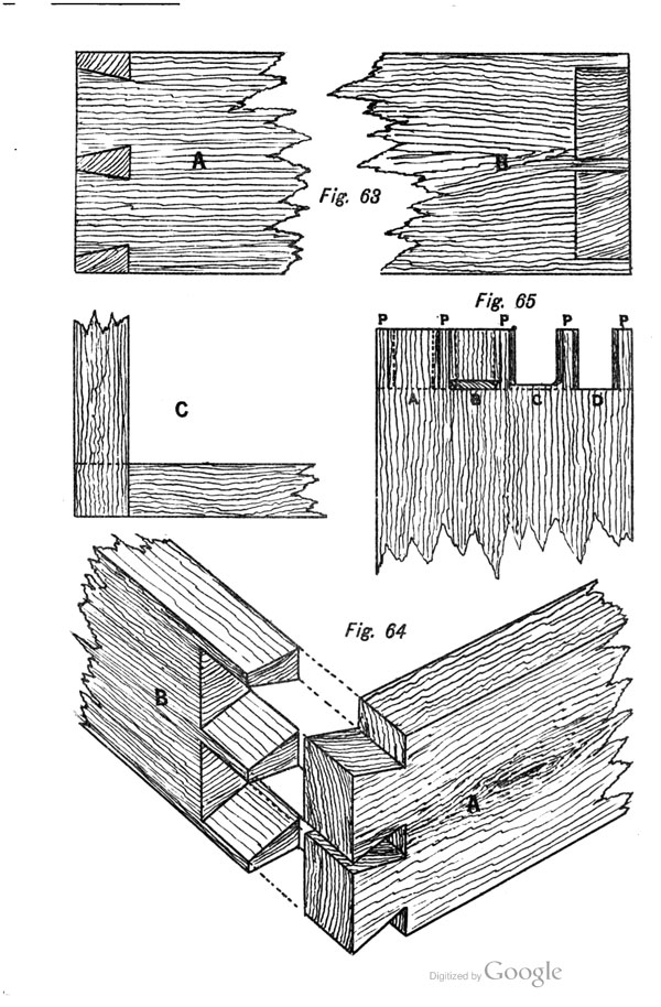 Sawing Out Dovetail Waste