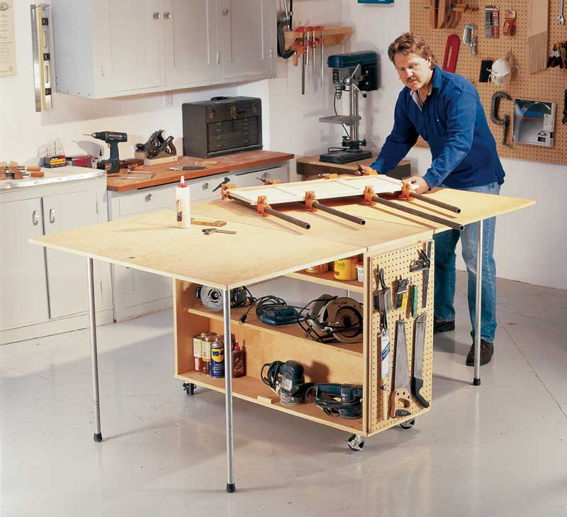 Aw Extra 5 29 14 Folding Worktable Popular Woodworking