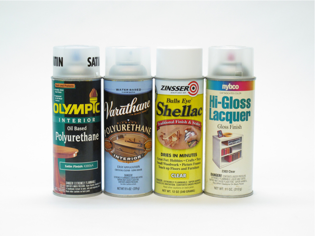 Aerosol Finishing Products