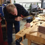 Frank Strazza, of the Heritage School of Woodworking