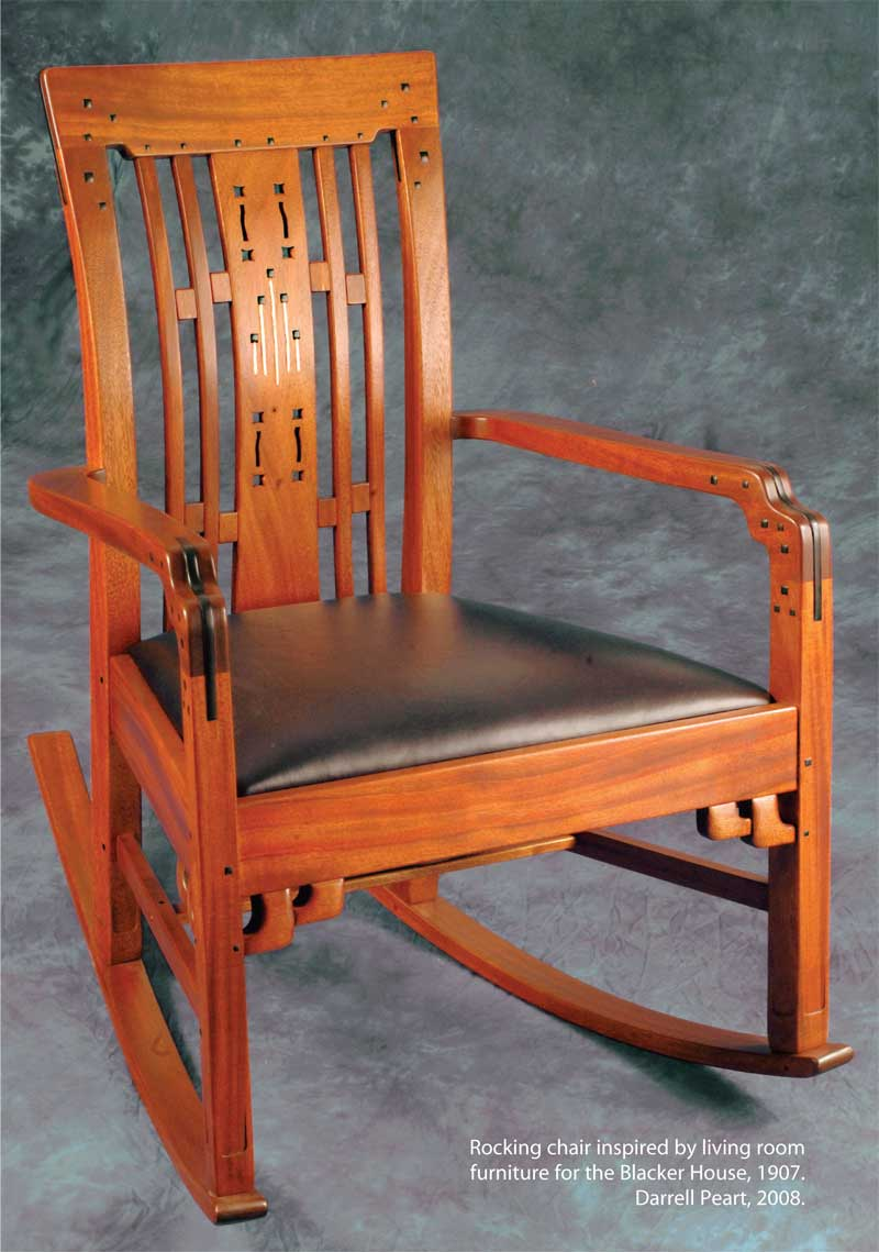 ... - Greene and Greene Furniture Details - Popular Woodworking Magazine