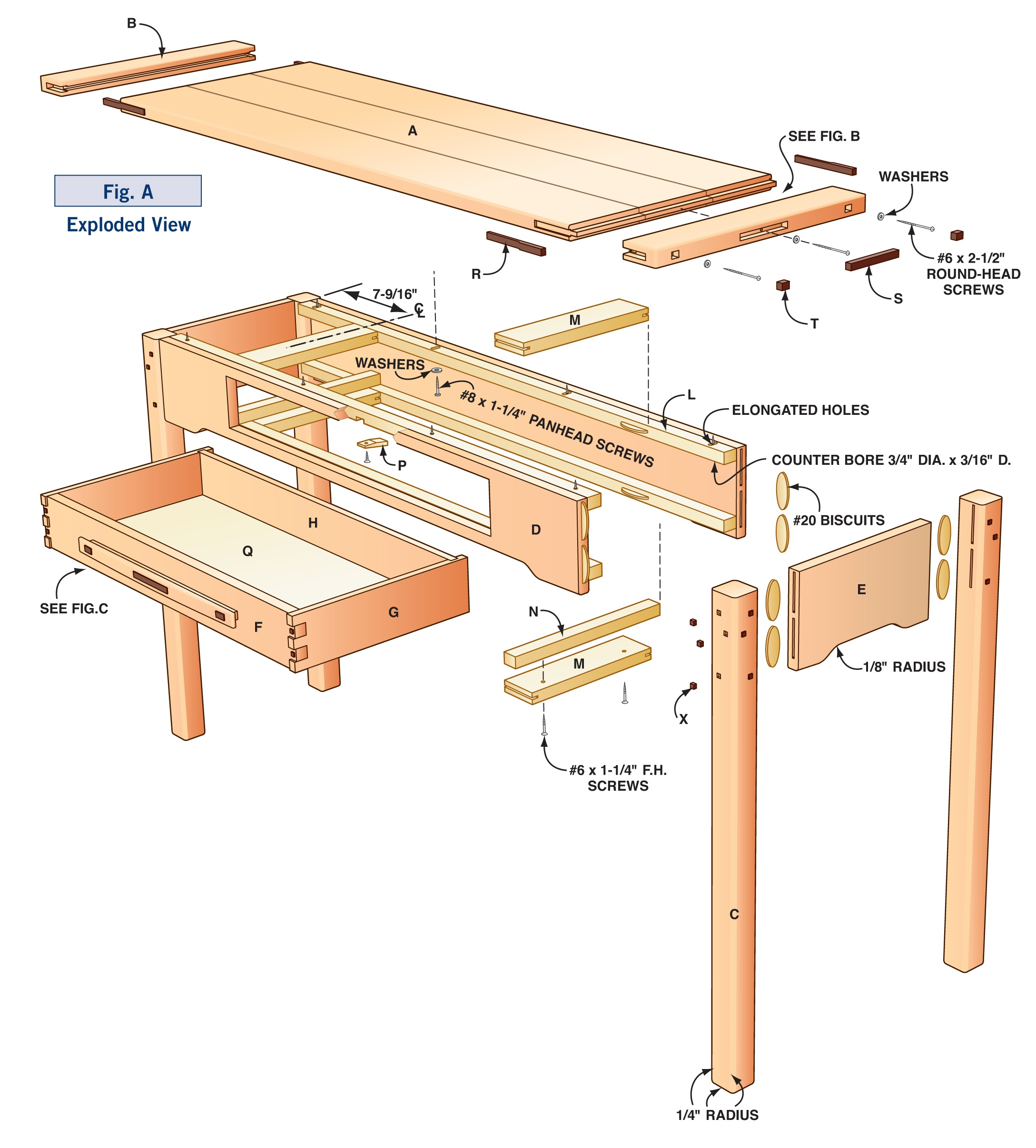 How to Make a Greene & Greene Style Hall Table: DIY Plans