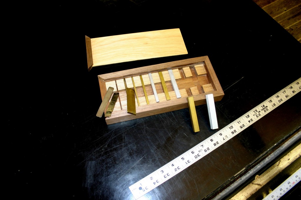Dale Barnard recommends a set of brass gauge blocks for completing Greene & Greene furniture projects.