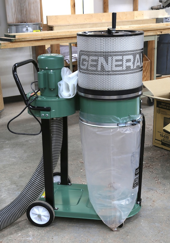 General International's New Dust Collector - Popular ...