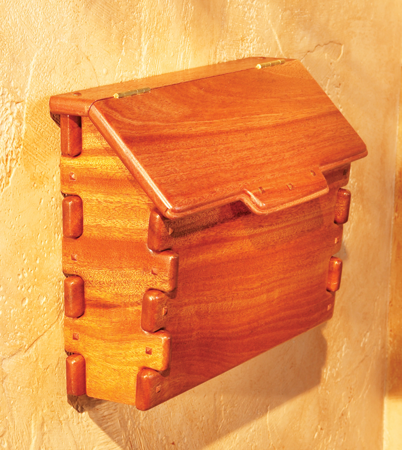 Greene and Greene Mailbox - Popular Woodworking Magazine