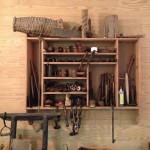 Hanging tool storage