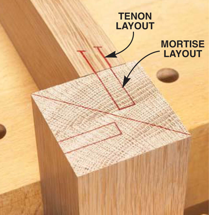 Haunched Mortise & Tenon - Popular Woodworking Magazine