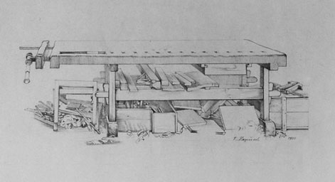 ve collected tons of drawings of old workbenches, during the years ...