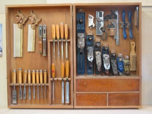 Chuck's old tool cabinet