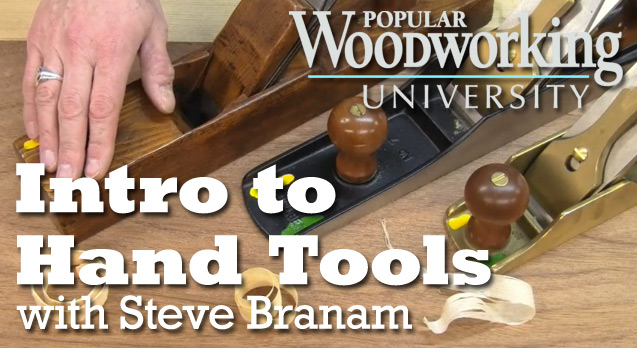 learn to use woodworking hand tools
