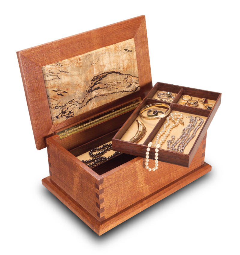 Woodworking Plans For Jewelry Boxes