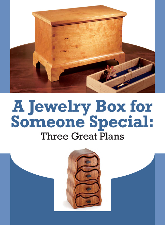 Free Jewelry Holder DIY: How to Build a Jewelry Box