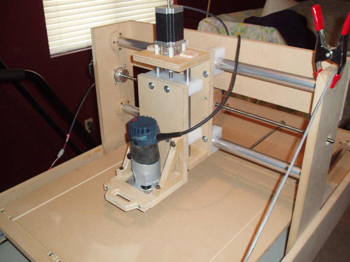 Build a cnc router is back at popular woodworking u for Diy router