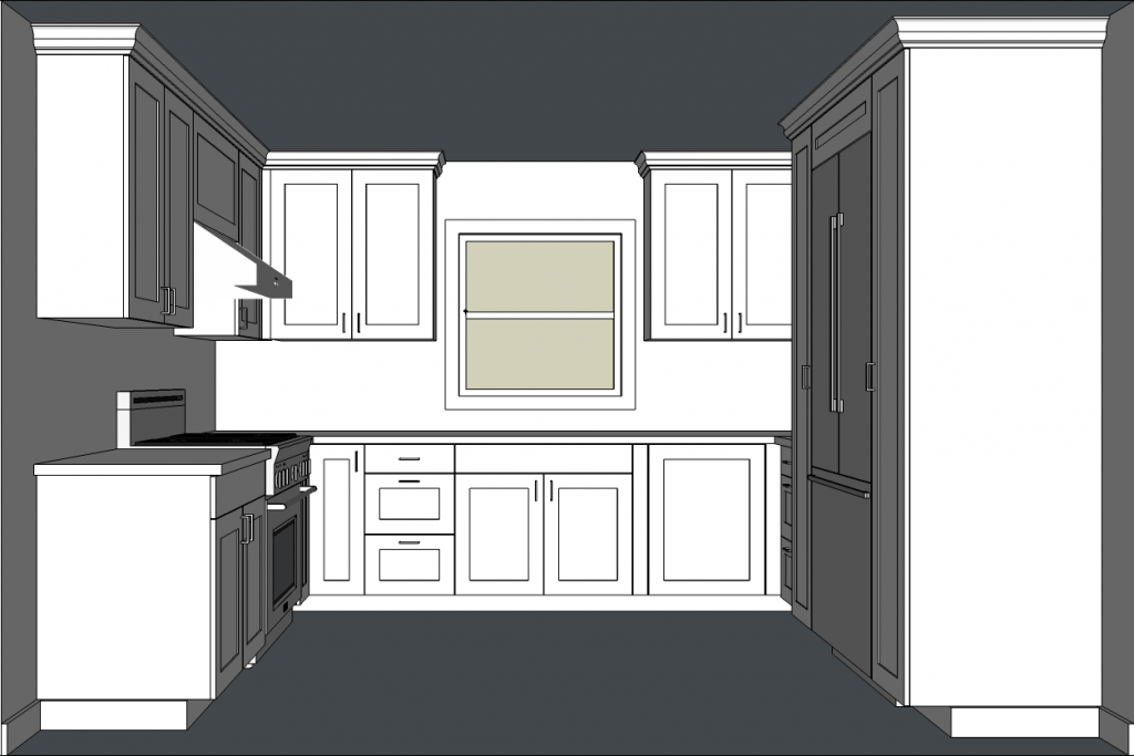 Designing kitchen cabinets with SketchUp is a great way to experiment